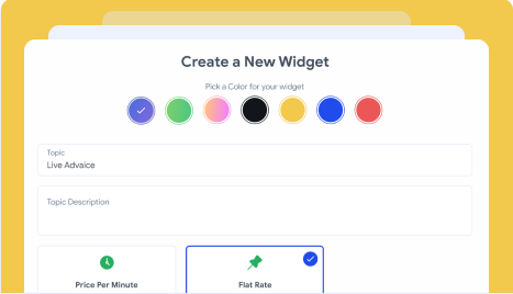 Create a Chat Widget
