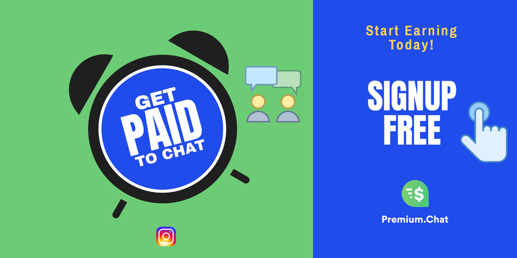 Get paid to chat signup