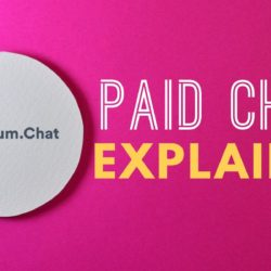 paid chat explained