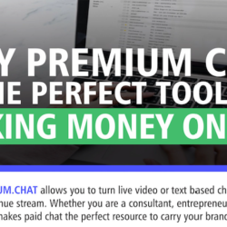 Premium Chat Making money online with chat