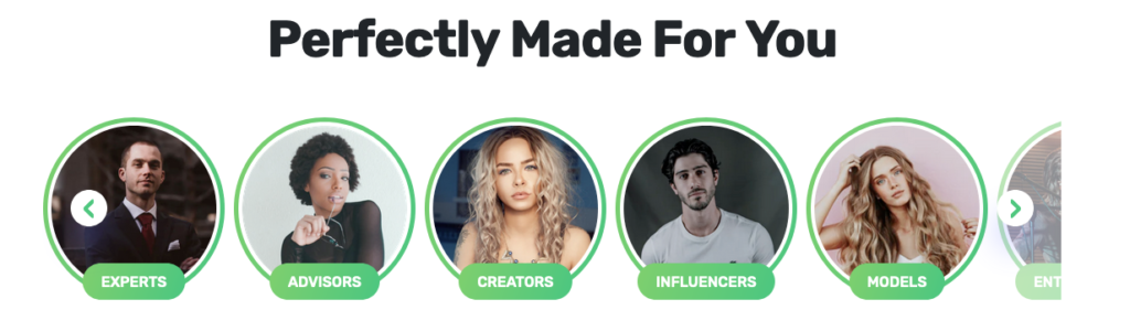 Chat With Premium Chat Influencers, Experts, Advisors